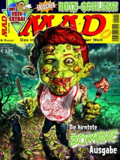 Go to MAD Magazine #115 • Germany • 2nd Edition - Dino/Panini