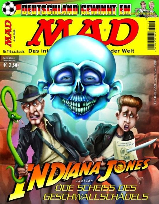 MAD Magazine #116 • Germany • 2nd Edition - Dino/Panini
