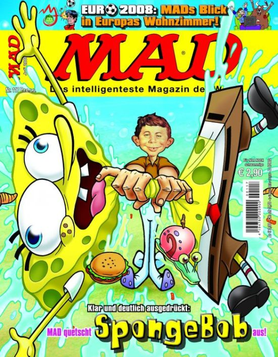 MAD Magazine #117 • Germany • 2nd Edition - Dino/Panini