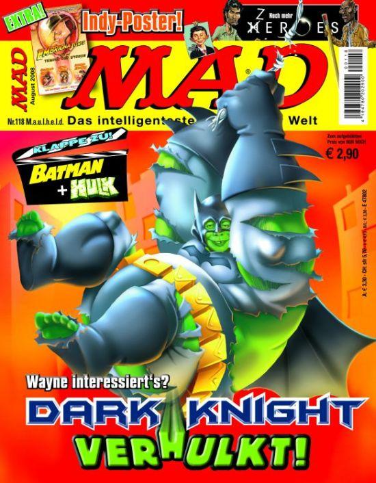 MAD Magazine #118 • Germany • 2nd Edition - Dino/Panini