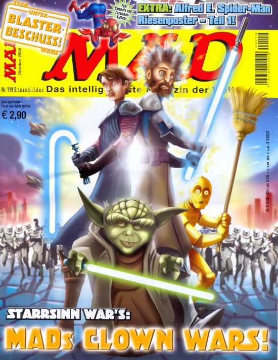 MAD Magazine #119 • Germany • 2nd Edition - Dino/Panini