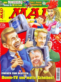 Go to MAD Magazine #120 • Germany • 2nd Edition - Dino/Panini