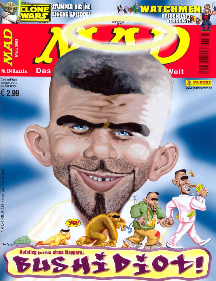MAD Magazine #124 • Germany • 2nd Edition - Dino/Panini