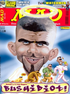 MAD Magazine #124 • Germany • 2nd Edition - Dino/Panini