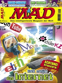 Go to MAD Magazine #125 • Germany • 2nd Edition - Dino/Panini
