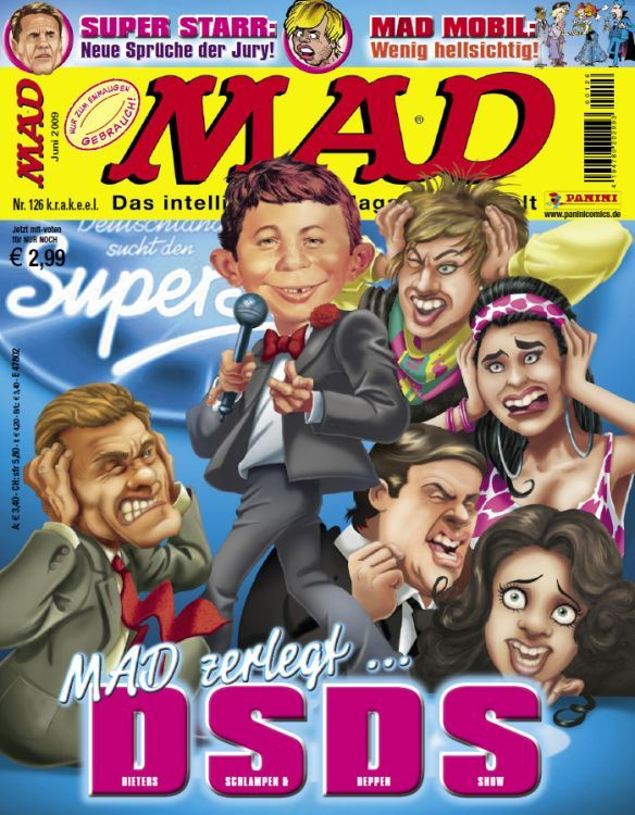 MAD Magazine #126 • Germany • 2nd Edition - Dino/Panini
