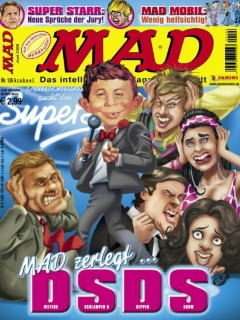 Go to MAD Magazine #126 • Germany • 2nd Edition - Dino/Panini