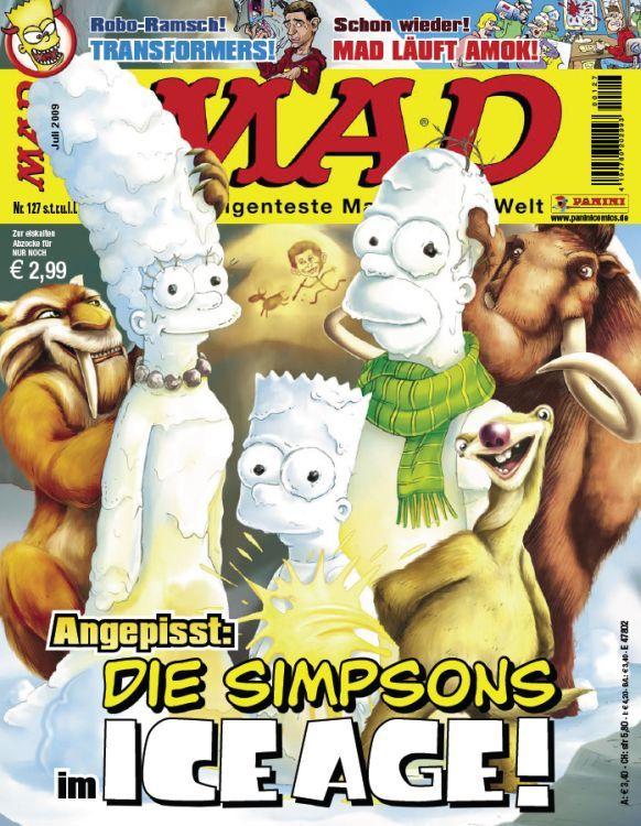 MAD Magazine #127 • Germany • 2nd Edition - Dino/Panini