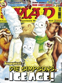 Go to MAD Magazine #127 • Germany • 2nd Edition - Dino/Panini