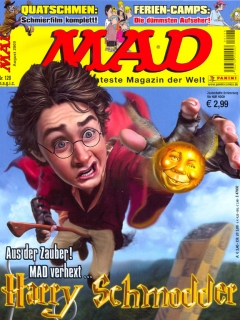 Go to MAD Magazine #128 • Germany • 2nd Edition - Dino/Panini