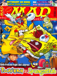 Go to MAD Magazine #130 • Germany • 2nd Edition - Dino/Panini