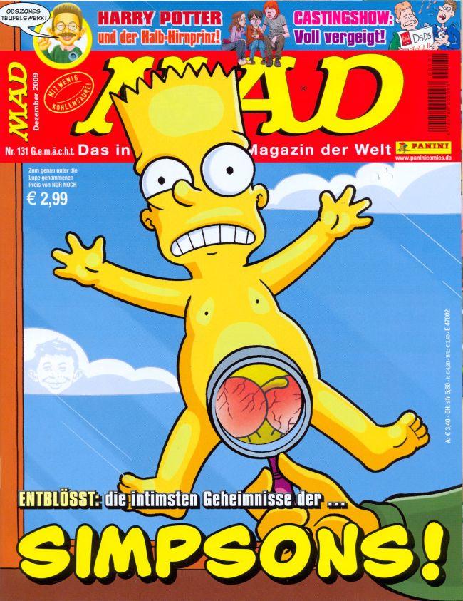 MAD Magazine #131 • Germany • 2nd Edition - Dino/Panini