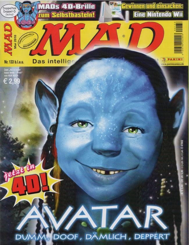 MAD Magazine #133 • Germany • 2nd Edition - Dino/Panini