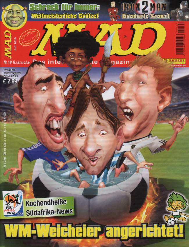 MAD Magazine #134 • Germany • 2nd Edition - Dino/Panini