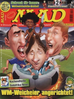 Go to MAD Magazine #134 • Germany • 2nd Edition - Dino/Panini