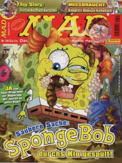 Go to MAD Magazine #135 • Germany • 2nd Edition - Dino/Panini