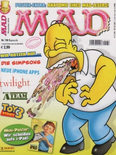 Go to MAD Magazine #136 • Germany • 2nd Edition - Dino/Panini