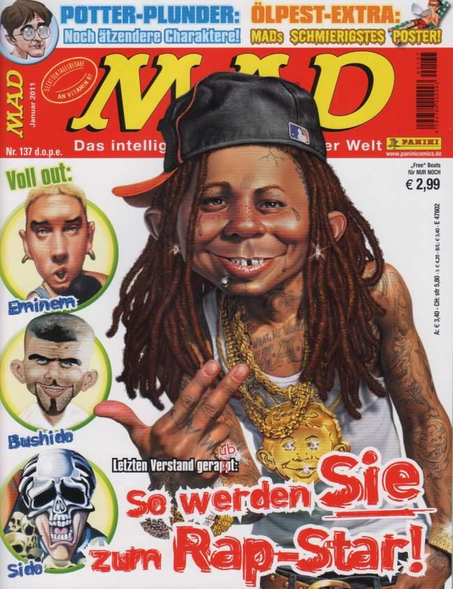 MAD Magazine #137 • Germany • 2nd Edition - Dino/Panini