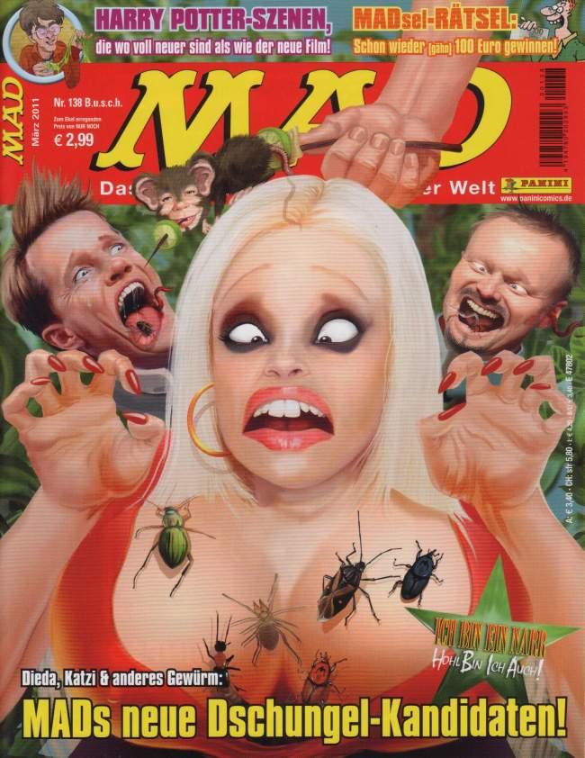 MAD Magazine #138 • Germany • 2nd Edition - Dino/Panini