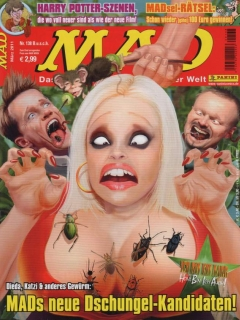 Go to MAD Magazine #138 • Germany • 2nd Edition - Dino/Panini