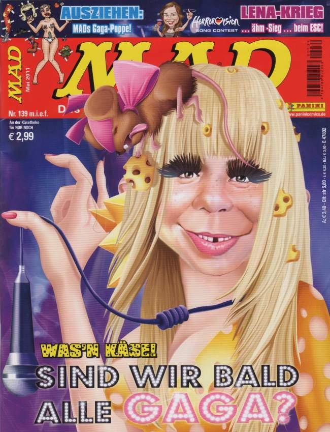 MAD Magazine #139 • Germany • 2nd Edition - Dino/Panini
