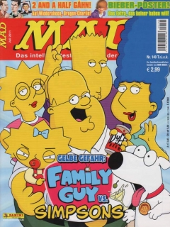Go to MAD Magazine #140 • Germany • 2nd Edition - Dino/Panini