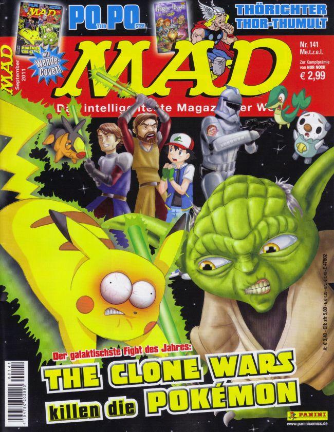 MAD Magazine #141 • Germany • 2nd Edition - Dino/Panini