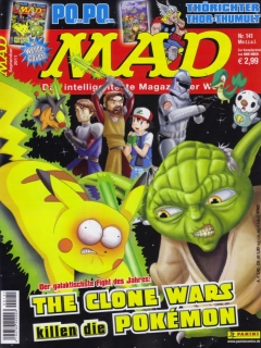 Go to MAD Magazine #141 • Germany • 2nd Edition - Dino/Panini