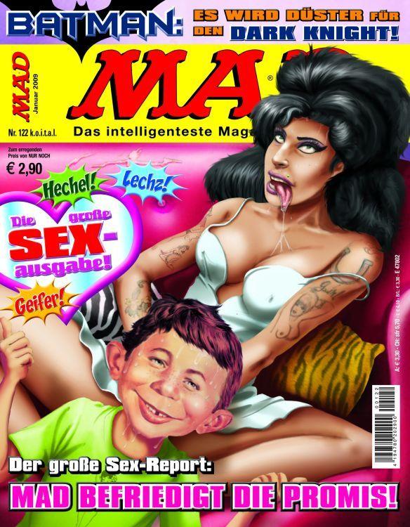 MAD Magazine #122 • Germany • 2nd Edition - Dino/Panini