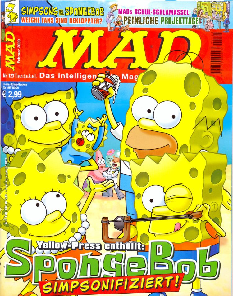 MAD Magazine #123 • Germany • 2nd Edition - Dino/Panini
