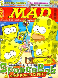 Go to MAD Magazine #123 • Germany • 2nd Edition - Dino/Panini