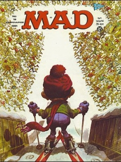 Go to MAD Magazine #19 • Greece • 1st Edition