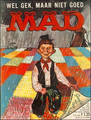 MAD Magazine #1 • Netherlands • 1st Edition