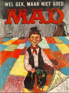 Go to MAD Magazine #1 • Netherlands • 1st Edition