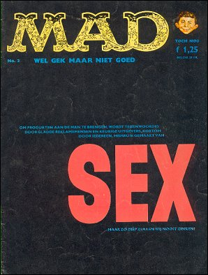 MAD Magazine #2 • Netherlands • 1st Edition