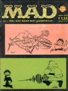 MAD Magazine #3 • Netherlands • 1st Edition