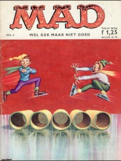 Go to MAD Magazine #4 • Netherlands • 1st Edition