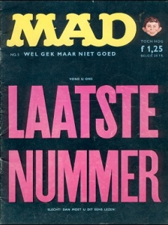 Go to MAD Magazine #5 • Netherlands • 1st Edition