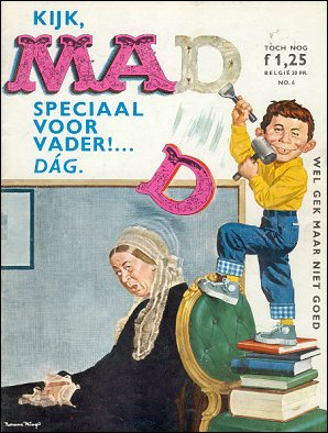 MAD Magazine #6 • Netherlands • 1st Edition