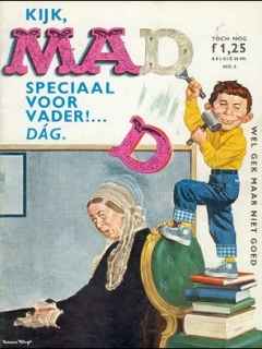 Go to MAD Magazine #6 • Netherlands • 1st Edition