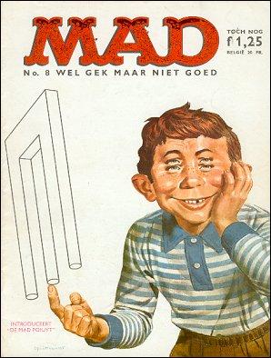 MAD Magazine #8 • Netherlands • 1st Edition