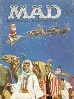 Go to MAD Magazine #9 • Netherlands • 1st Edition
