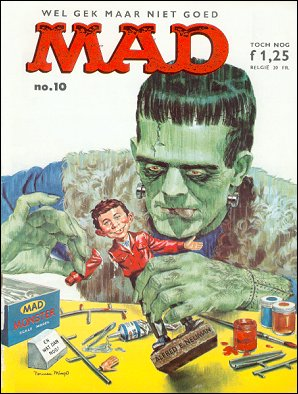 MAD Magazine #10 • Netherlands • 1st Edition
