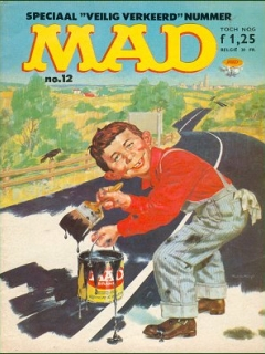 Go to MAD Magazine #12 • Netherlands • 1st Edition