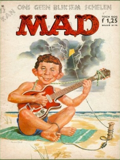 Go to MAD Magazine #13 • Netherlands • 1st Edition