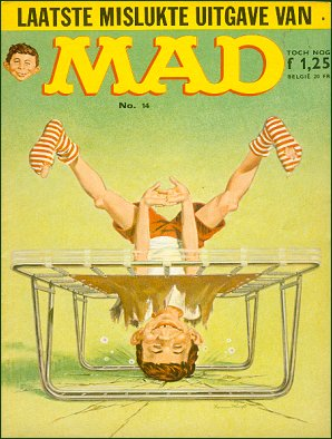 MAD Magazine #14 • Netherlands • 1st Edition