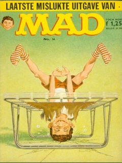 Go to MAD Magazine #14 • Netherlands • 1st Edition