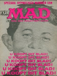 Go to MAD Magazine #15 • Netherlands • 1st Edition