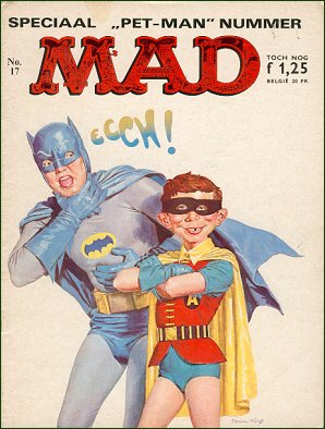 MAD Magazine #17 • Netherlands • 1st Edition