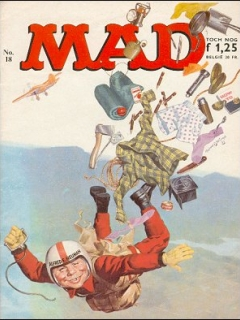 Go to MAD Magazine #18 • Netherlands • 1st Edition